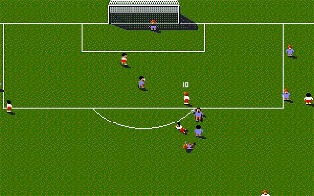 Sensible Soccer, a game from 1993. AFP