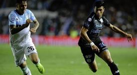 El técnico de Racing no quiere dejar escapar a su jugadores. Twitter/Belgrano