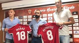 El Almería presentó a sus dos nuevos jugadores. UDAlmería