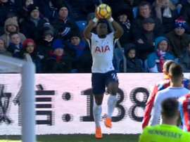 Aurier committed a hat-trick of foul throws against Crystal Palace. Sky Sports
