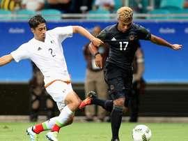 Serge Gnabry fue uno de los mejores jugadores de Alemania ante México. EFE/EPA