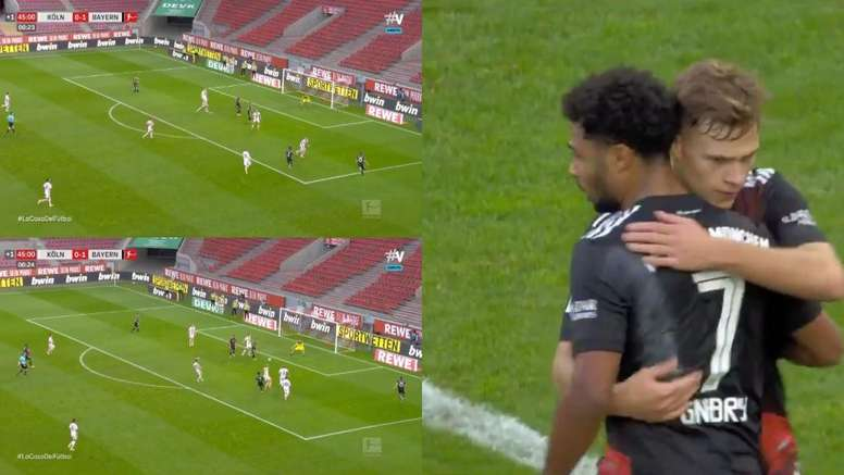Gnabry made it 2-0. Screenshots/Vamos