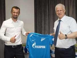 Sergei Semak, o novo timoneiro do Zenit. FCZenit