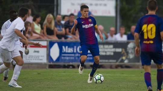 Palencia rejoint Bordeaux. FCBarcelona-Masia