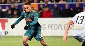 vPSG could take Dest from Barça for 20 million. Twitter/AFCAjax