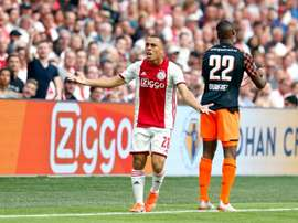 Dest was wanted by Bayern, but Ajax rejected their offer. Twitter/AFCAjax