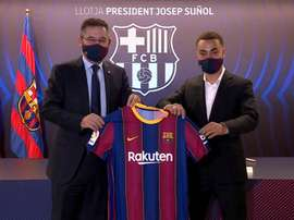 Dest s'est exprimé comme joueur blaugrana. Captura/FCBarcelona