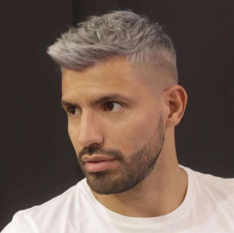 Aguero Dyes Hair For The Derby Besoccer