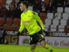 Sergio Aguza confía en la victoria. CórdobaCF
