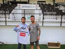 Sergio Albiol llega al Ontinyent dispuesto a dejarse la piel por el club. Ontinyent