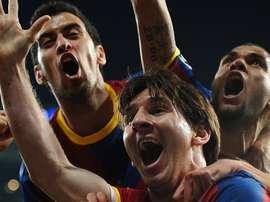 Daniel Alves falou sobre Leo Messi. UEFA
