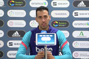 Busquets in conferenza stampa. Twitter/RFEF