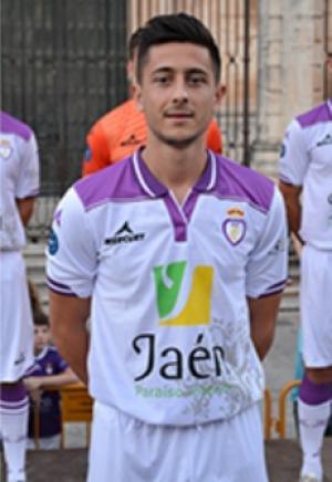 Sergio Calatayud Lebrón, con el Jaén. LaPreferente
