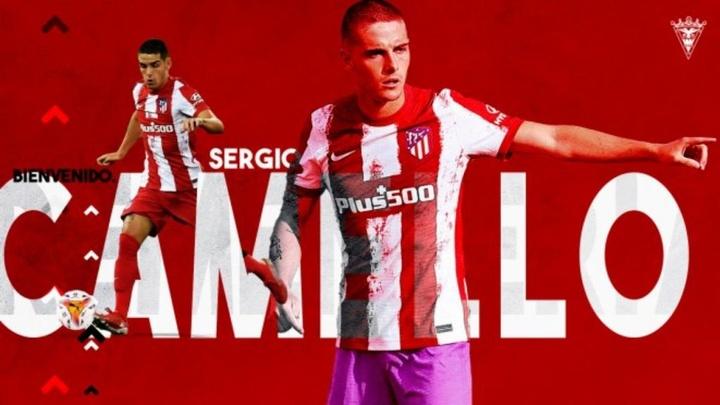 Sergio Camello, nuevo jugador del Mirandés. Twitter/CDMirandes