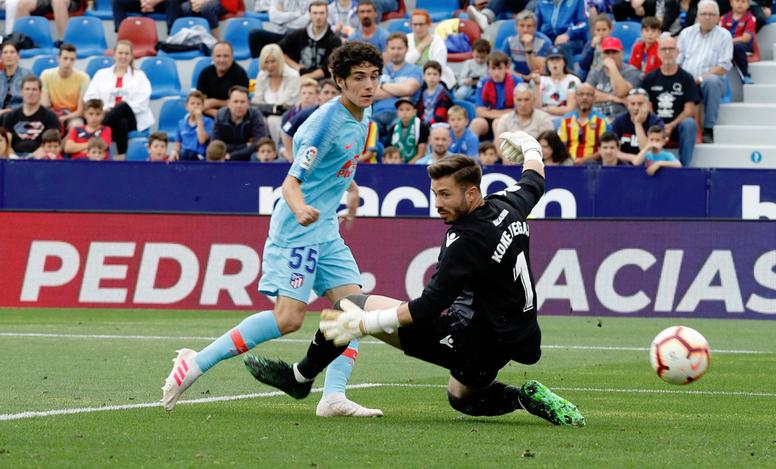 Sergio Camello declaró que quiere ser una leyenda del Atlético. AtletiAcademia