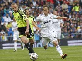 Canales spent two years with Real Madrid. EFE