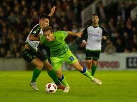 Sergio León anotó el tanto del triunfo. Twitter/RealBetis