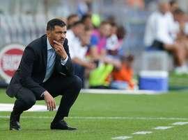 O técnico portista manifestou imensa confiança no seu lateral direito. Twitter/Maisfutebol