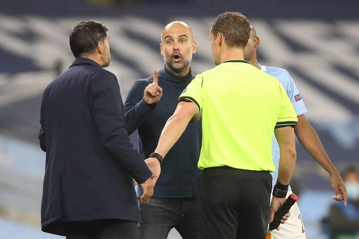 Porto - Manchester City: onzes iniciais confirmados. AFP