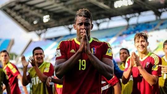 L'attaquant de Caracas se rapproche de plus en plus de la Bundesliga. SergioCórdova
