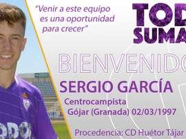 El Real Jaén se hace con los servicios de Sergio García. RealJaenCF