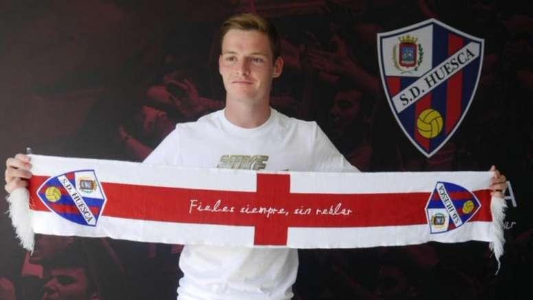 Sergio Gómez quiere devolver al Huesca a Primera. SDHuesca