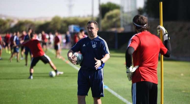 El Valladolid de Sergio sigue preparando la nueva temporada. RealValladolid