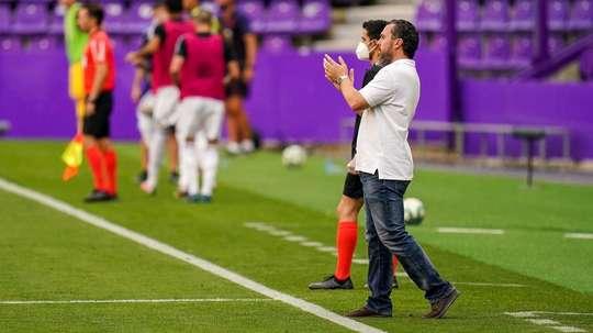 Sergio González cree que no acertó en su planteamiento. RealValladolid