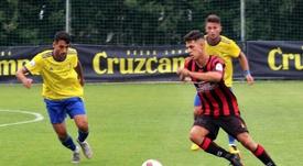 Sergio González y Joel Nuez seguirán en el Unión Viera. Twitter/CFUNIONVIERA