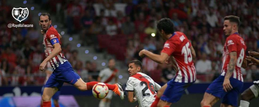 Sergio Moreno, l'un des convoqués pour le déplacement à Bernabéu. RayoVallecano