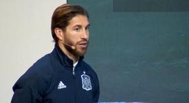 Ramos ya se ve ganando en Arabia. Twitter/rfef