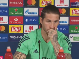 Ramos spoke prior to the match with Manchester City. Captura/RealMadridTV