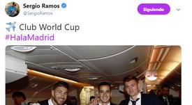 Le Mondial des Club prochaine compétition. Twitter/SergioRamos