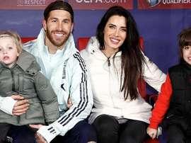 Sergio Ramos recebe família. Twitter/SergioRamos