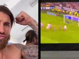 Ramos se motivou com a 'Décima'. Captura/SergioRamos
