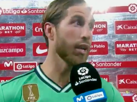 Ramos a évoqué la volonté des siens. Capture/Movistar