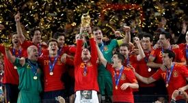 Nueve años del Mundial de España. EFE/Archivo