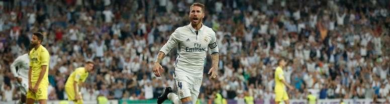 Sergio Ramos ne vit pas un bon début de saison avec le Real. RealMadrid