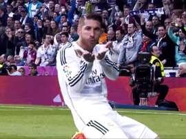 Sergio Ramos con el Real Madrid. RealMadrid