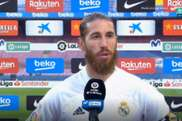 Ramos comentou sobre pênalti do segundo gol do Real Madrid. Captura/MovistarLaLiga