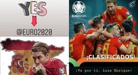 Sergio Ramos homenajeó la figura de Luis Enrique tras la clasificación. Instagram/sergioramos