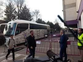 Sergio Ramos puxa a fila. Twitter/MiguelitoCope