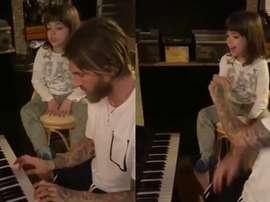 Sergio Ramos mostrou a sua evolução no piano. Instagram/SergioRamos