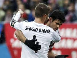 The love-hate relationship between Ramos and Costa. EFE