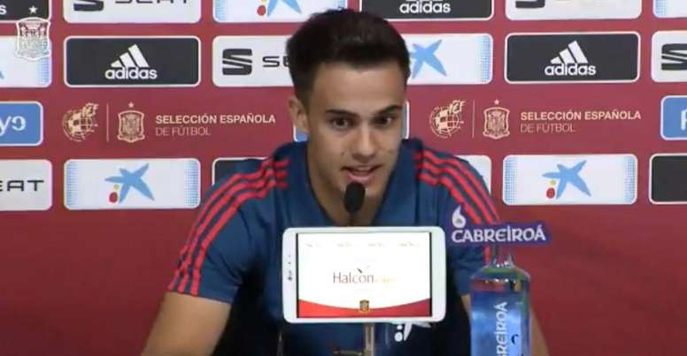 Reguilon évoque ses débuts avec l'Espagne. Capture/SeFutbol