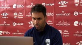 Sergio Rodríguez analizó el partido. Captura/UDLogroñes