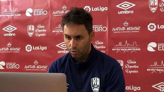 Sergio Rodríguez advirtió de los puntos fuentes del rival. Captura/UDLogroñes