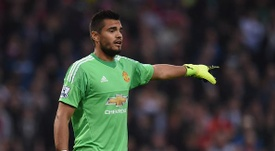 Romero rarely features for United nowadays. Manchester United/Twitter
