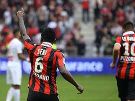 Seri scores twice as Nice secure Champions League place. Twitter