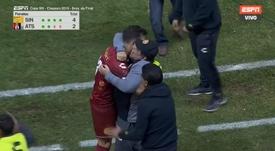 ¡El gol ganador del portero de Maradona que tiene al '10' tatuado! Captura/ESPN